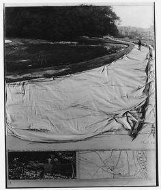 Wrapped Walkway (Two Park Project, Sonsbeek)  Christo