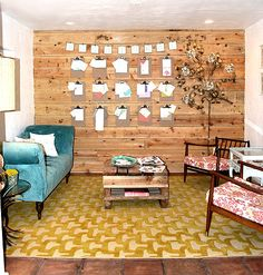 lovely wood paneled wall