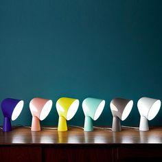 Like a little Lighthouse – The Binic Table Lamp Design by Ionna Vautrin for Italian Foscarini Light Table, Lamp Light, Cool Lighting, Lighting Design, All Of The Lights, Luminaire Design, Light Of Life, Downlights, Interior Lighting