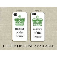 Master of the House - Les Miserables iPhone 4 or iPhone 5 Case ($28) ❤ liked on Polyvore