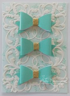 Daily Grace Creations: Bow Card
