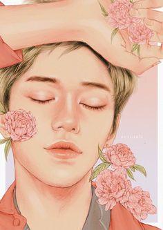 baby good night [lucas nct] Art Print by Aerinah - X-Small Lucas Arts, Indie, Grunge, Lost Stars, Kpop Drawings, Korean Art, Kpop Fanart, Boy Art, Cool Baby Stuff