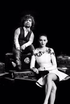 Peter Dinklage and Sophie Turner