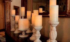 Candles or LEDs? #PartyLite
