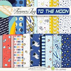 TO THE MOON Paper Pack