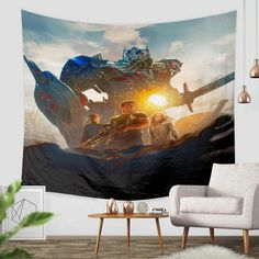 3D Custom Transformers Tapestry Throw Wall Hanging Bedspread