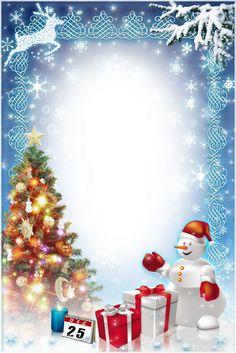 View album on Yandex. Christmas Frames Free, Free Christmas Borders, Christmas Cover, Christmas Cards To Make, Xmas Cards, Christmas Art, Christmas Card Background, Christmas Wallpaper, Christmas Stationery