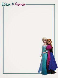 Frozen: Imprimibles y Tarjetería para Imprimir Gratis.