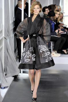 Christian Dior Spring 2012 Couture Fashion Show - Constance Jablonski (Viva)