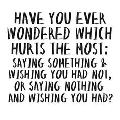 Have you ever wonder..?