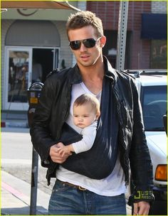 Cam Gigandet- Thought he couldn't get any sexier..then he added a cute baby to his look