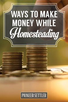 Ways To Make Money While Homesteading | Self-sufficiency and Self-reliance Ideas by Pioneer Settler | http://pioneersettler.com/ways-make-money-homesteading/