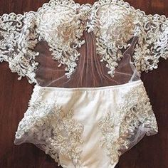 For those who want to be beautiful fashionable bride! and enjoy our wedding dress of extraordinary beauty and femininity from the world wedding dress designer Victoria Spiri - Source by dress lingerie Pretty Lingerie, Beautiful Lingerie, Sexy Lingerie, Women Lingerie, Lingerie Underwear, Beautiful Bride, Fairy Wedding Dress, Mermaid Wedding, Jolie Lingerie