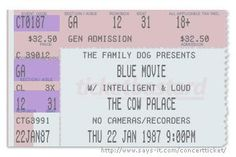 Blue Movie at the Cow Palace - w/ Intelligent and Loud!