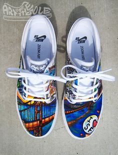 Worlds best custom hand painted shoes nike adidas vans and more a804b6d5f1