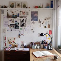 Uni Room, Dorm Room, Workspace Inspiration, Room Inspiration, Pretty Room, Room Goals, Aesthetic Room Decor, Fashion Room, Dream Rooms