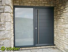 KLOEBER - Doors and Windows   Product and product group images - Modern Timber Front Door Kloeber FunkyFront (Medium).jpg