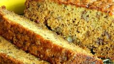 This easy banana bread recipe is quick to prepare, and everyone always comes back for seconds! *******I replaced the flour with ground quick cook oats******* Easy Banana Bread, Banana Bread Recipes, Banana Bread Recipe Joy Of Cooking, Banana Nut, Quick Bread, Healthy Dinner Recipes For Weight Loss, Healthy Recipes, Clean Recipes, Delicious Recipes