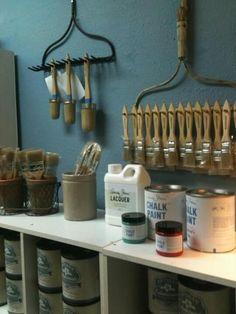 Organize Paint Supplies