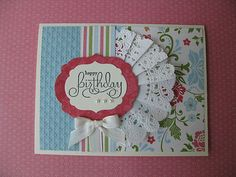 All Occasion Handmade Greeting Card Kit Stampin Up Everyday Enchantment   eBay