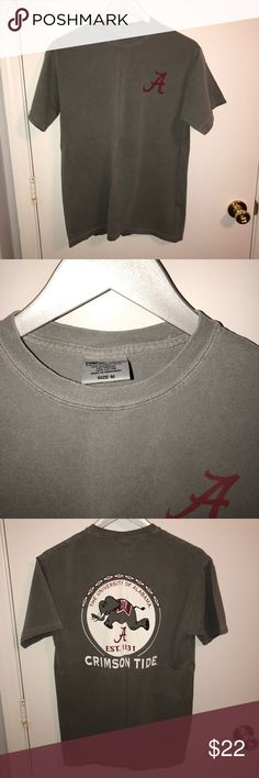 Unisex Alabama Comfort Colors T-shirt Never been worn. Like new condition. 🍍girls or guys sizing, bought it for myself but gave it to my brother-neither Of us ever wore it though Comfort Colors Shirts Tees - Short Sleeve