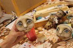 """Мастер класс """" мишка Тедди и его друзья в авторской технике """" - Ярмарка Мастеров - ручная работа, handmade"""