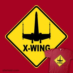 Caution X-wing