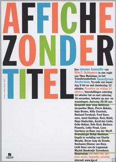 Affiche Zonder titel - Toneelgroep Amsterdam - 2000-10-13.jpg
