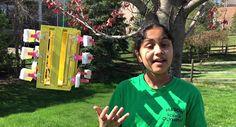 Una niña crea energía limpia con un invento que cuesta 5 dólares