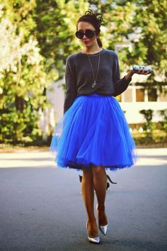 Tutu skirts for autumn via the dauphine