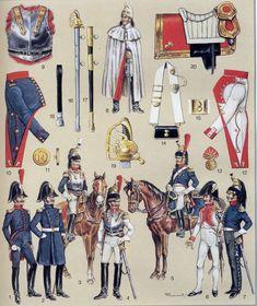 Corazzieri polacchi del 14 rgt. corazzieri francese