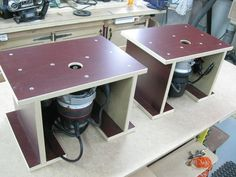 Tiny Portable Router Table  lots of jigs idea