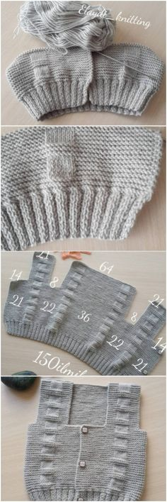 How To Make Hooded Baby Cardigan – Knitting And We Baby Boy Knitting Patterns, Knitting Designs, Knit Patterns, Hand Knitting, Crochet Baby, Knit Crochet, Baby Cardigan, Knitted Shawls, Baby Sweaters