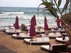 Beautiful Edde sands beach club, on the Mediterranean in Byblos - Jbeil - Lebanon