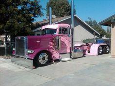 Big Rigs, Trucks Large Cars, Semi Trucks Large, Big Cars, Awesometrucks Bikes, Peterbilt Trucks, Semi Trucks Truckin, Pink Cars Trucks Etc, Big Trucks