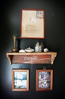 Great Idea for one of my coke crates