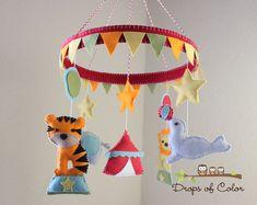Baby Crib Mobile  Baby Mobile  Circus Mobile  #SocialCircus