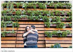 Gina & Matt's Engagement Session | La Vida Creations | Little Italy, San Diego