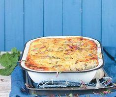 Aartappel-en-spinasie-gebak | Vrouekeur