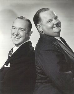 Laurel and Hardy, when I watch them..all problems go away..
