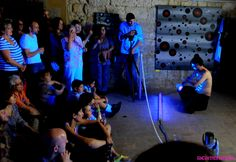 "2015. LIVE PERFORMANCE ""KRITIC"" JORDI BOFILL·COSMOS ART."