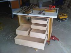 INCRA Cabinet #6: Router Table - by Lance @ LumberJocks.com ~ woodworking community