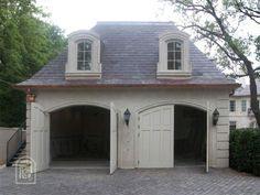 hip roof carriage house