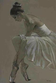 Ballet Drawings, Dancing Drawings, Art Drawings, Art Ballet, Ballerina Painting, Ballerina Drawing, Dancer Drawing, Ballerina Project, Ballet Pictures