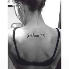 Joshua 1:9  Be Strong and Courageous!