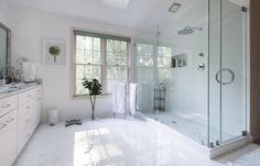 bathroom-glass-shower-stalls-and-white-tile-floor-added-by-glass-windows-and-white-wall-surprising-detail-of-bathroom-design-to-inspire-you.jpg 5,420×3,476 pixels