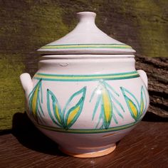 Tureen, handcrafted tradition since the mid-twelfth century, Ceramic Lighthouse. Crafts Asturias.
