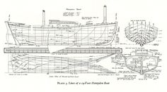 Wooden Boat Building Plan