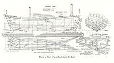 Wooden Boat Building Plan