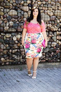 plus size bodysuit pencil skirt summer 2015 trends ootd crystal coons how to wear a bodysuit